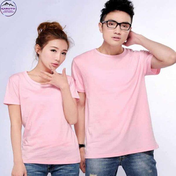 Áo đôi Kabuto màu hồng