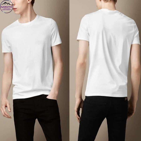 Áo thun màu trắng cho nam