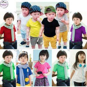 áo thun trơn dành cho trẻ em kabuto