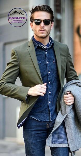 áo bò kết hợp với quần Jeans