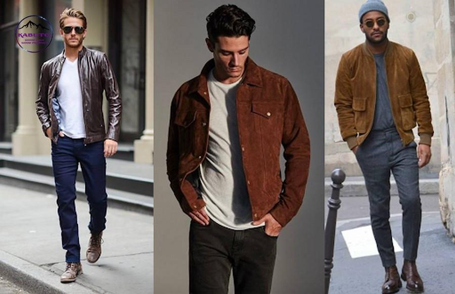 Áo thun dài tay kết hợp áo khoác