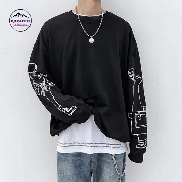 Kết hợp áo phông oversize và áo thun tay dài