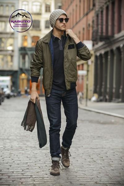 Phối áo Polo với quần Jean