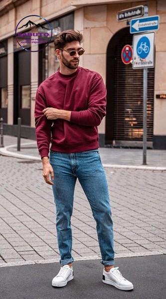 quần jean áo phông
