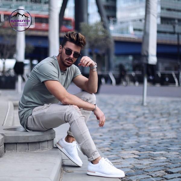 quần jean áo thun nam