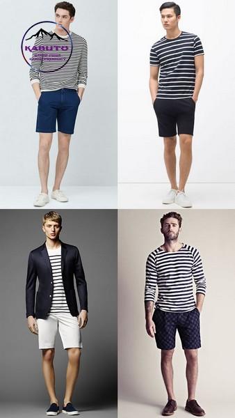 quần short áo thun nam