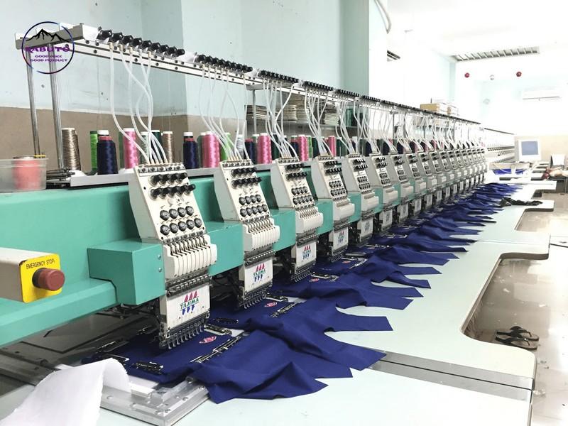quy trình sản xuất áo thun