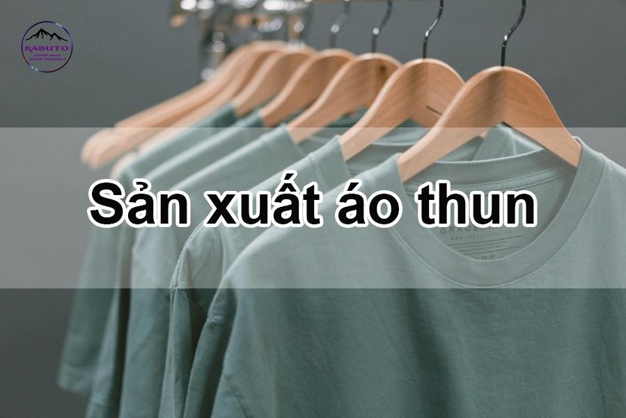 sản xuất áo thun