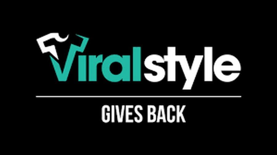 Logo nền tảng bán áo trực tuyến Viralstyle