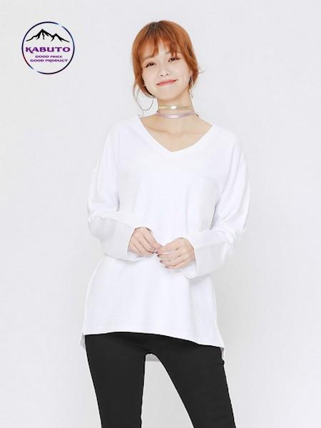 áo thun trắng có cổ