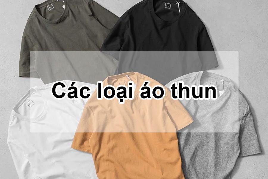 các loại áo thun
