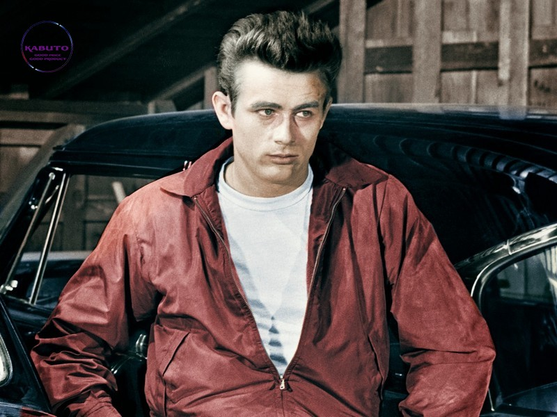 James Dean mặc áo thun