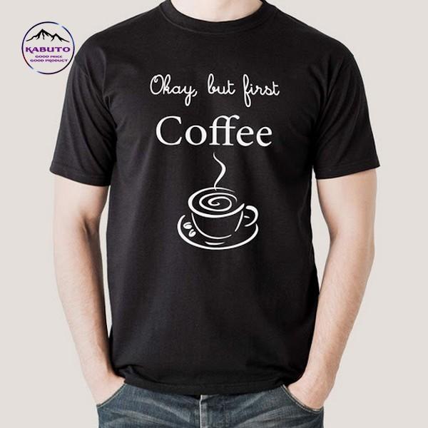 Mẫu áo thun quán cafe đơn giản