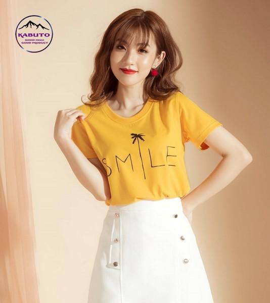 áo pull màu vàng tươi sáng