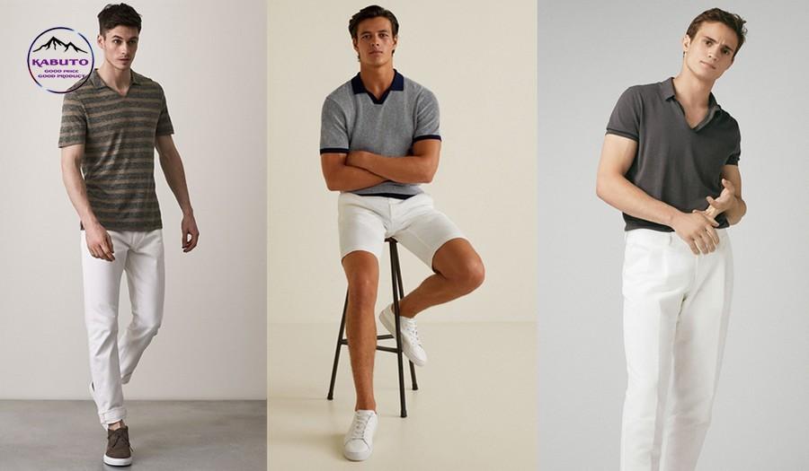 chọn áo polo phù hợp với cơ thể