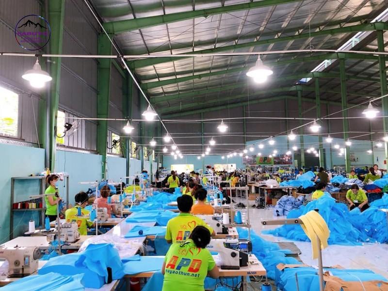 xưởng in áo