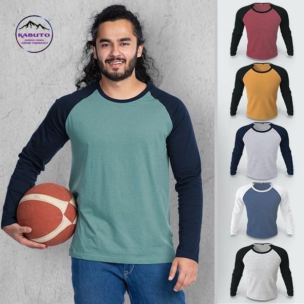 raglan shirt đa dạng màu sắc