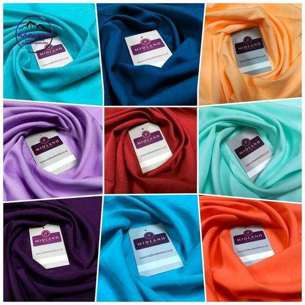 vải polyester có nhiều màu sắc