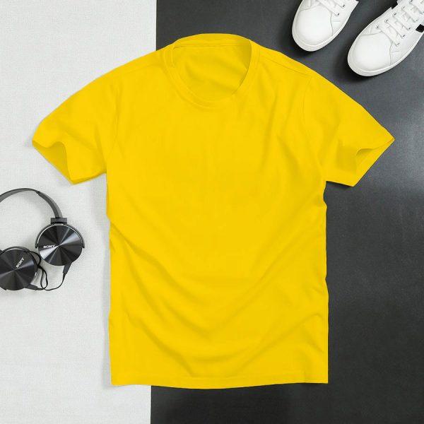 áo thun màu vàng nam nữ