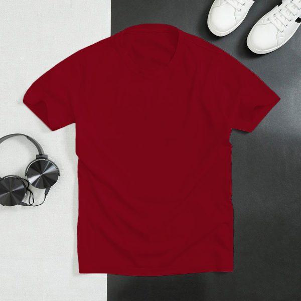 áo thun đỏ đậm