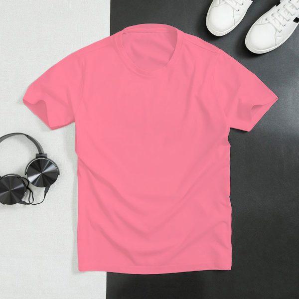áo thun màu hồng